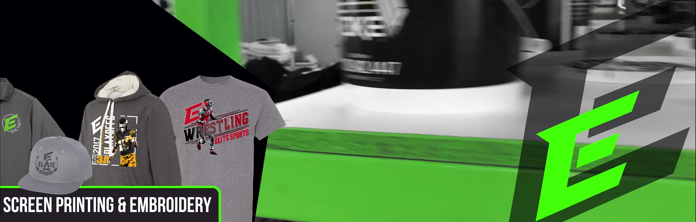 Elite Sports - Custom Screen Printing, Embroidery and Awards